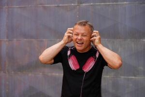 DJ Milan Šifta sluchátka