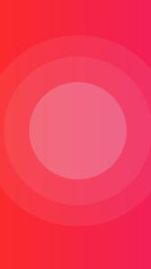 Barevné kruhy vystředěné na výšku