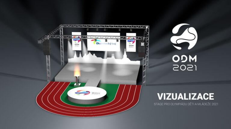 ODM Olympiáda dětí a mládeže 2021 vizualizace